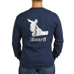 iBoard Long Sleeve Dark T-Shirt