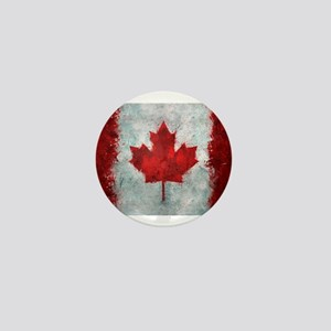 Canadian Abstract Poster Mini Button