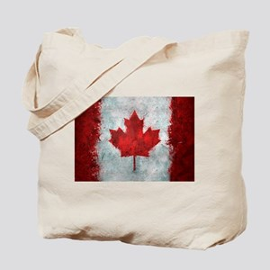 Canadian Abstract Poster Tote Bag