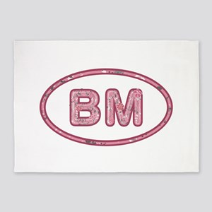 BM Pink 5'x7'Area Rug