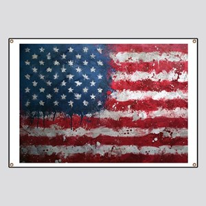 American grunge poster Banner