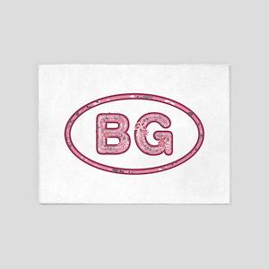 BG Pink 5'x7'Area Rug
