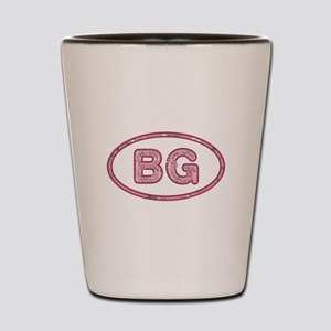 BG Pink Shot Glass