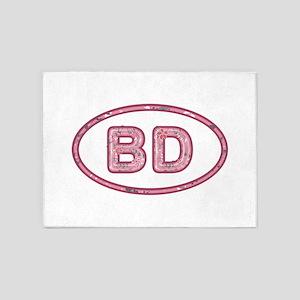 BD Pink 5'x7'Area Rug