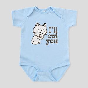 I'll cut you Infant Bodysuit