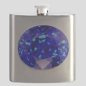 Sapphire Flask