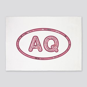 AQ Pink 5'x7'Area Rug