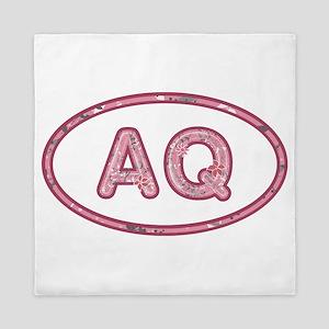 AQ Pink Queen Duvet
