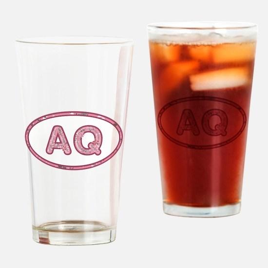 AQ Pink Drinking Glass