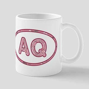 AQ Pink Mug