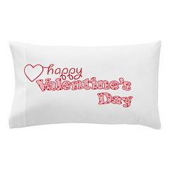 Valentine's Day Pillow Case
