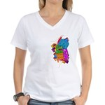 radelaide sa5k Women's V-Neck T-Shirt