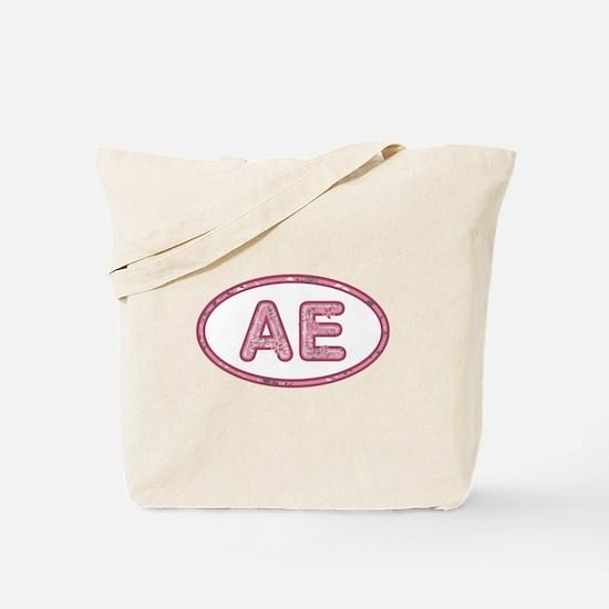 AE Pink Tote Bag