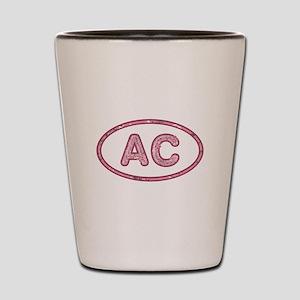 AC Pink Shot Glass