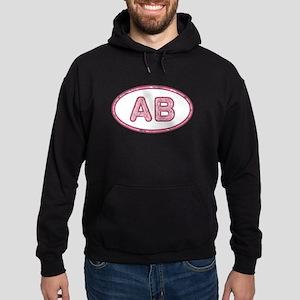 AB Pink Hoodie (dark)