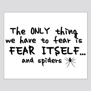 Fear itself and spiders Small Poster
