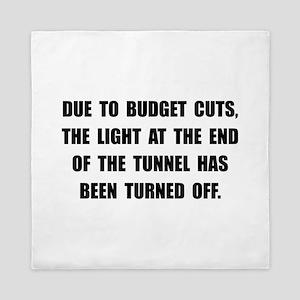 Budget Cuts Queen Duvet