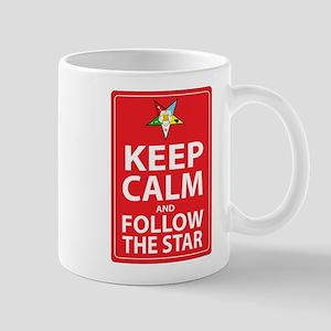 Keep Calm Follow the Star Mug
