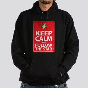 Keep Calm Follow the Star Hoodie (dark)