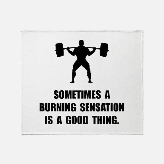 Burning Sensation Throw Blanket