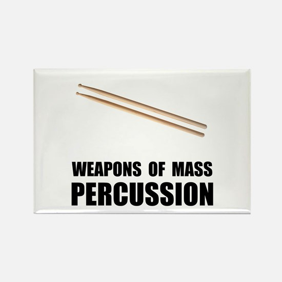 Drum Mass Percussion Rectangle Magnet (10 pack)
