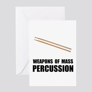 Drum Mass Percussion Greeting Card