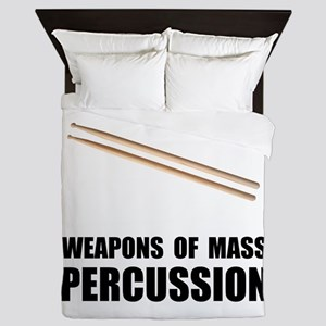 Drum Mass Percussion Queen Duvet