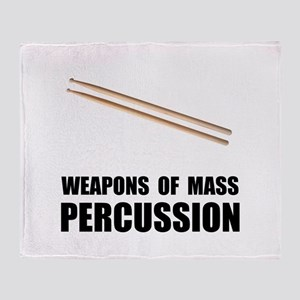 Drum Mass Percussion Throw Blanket