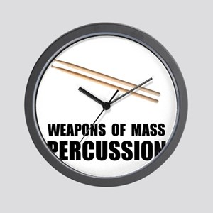 Drum Mass Percussion Wall Clock