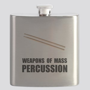 Drum Mass Percussion Flask