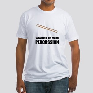 Drum Mass Percussion Fitted T-Shirt