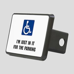 Handicap Parking Rectangular Hitch Cover