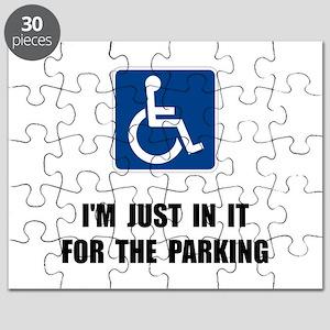Handicap Parking Puzzle