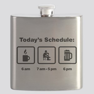 Pottery Flask