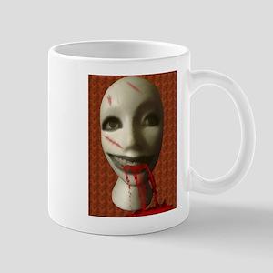 Scary Dummy Head Mug