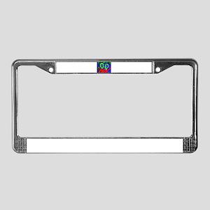 Newly Wedded Astronaunts License Plate Frame