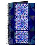Blue Quilt Watercolor Journal