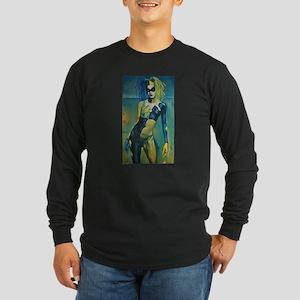 Summer Harlequin Long Sleeve Dark T-Shirt