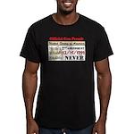 """""""Official Gun Permit"""" Fitted T-Shirt (da"""