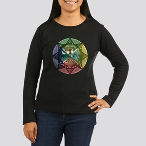 Elemental Seasons Women's Long Sleeve Dark T-Shirt