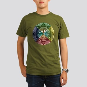 Elemental Seasons Organic Men's T-Shirt (dark)