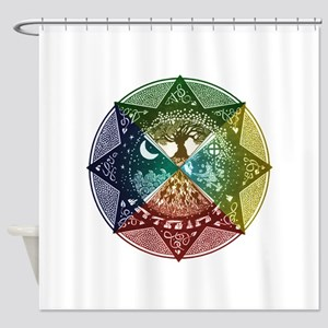 Elemental Seasons Shower Curtain