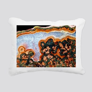Cut and polished agate - Pillow