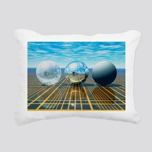 Light reflection from 3 spheres - Pillow