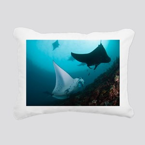 Manta rays - Pillow