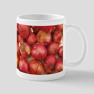 bunch of red onions Mug