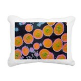 Microbes Rectangle Canvas Pillows