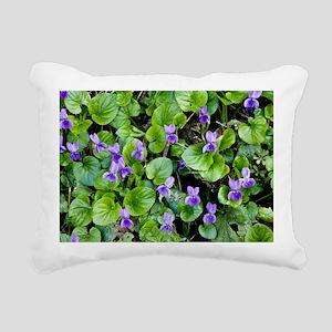 Viola odorata (Sweet Violets) - Pillow