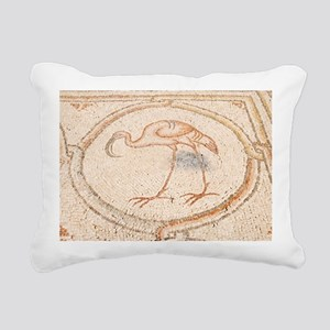 'Bird Mosai Flamingo detail - Pillow