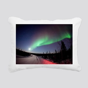 Aurora borealis in Alaska - Pillow